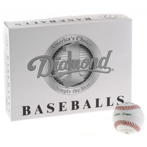 Diamond DLL Tournament Grade Little League Baseballs 12-Pack