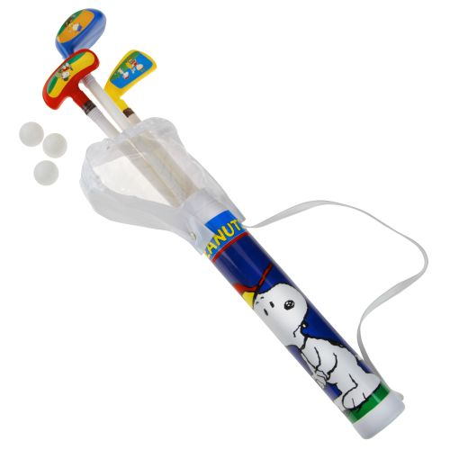 Display product reviews for Golf Gifts & Gallery Kids' Snoopy Candy Cane Golf Set