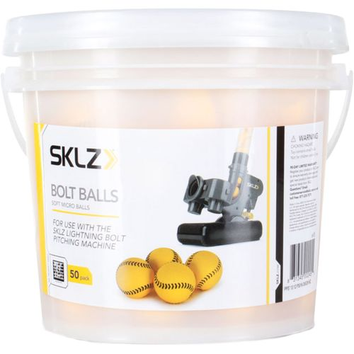SKLZ Bolt Ball Bucket 50-Count - view number 1