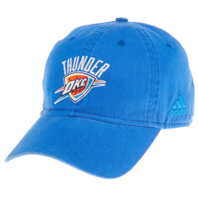 adidas™ Men's Oklahoma City Thunder Adjustable Slouch Cap
