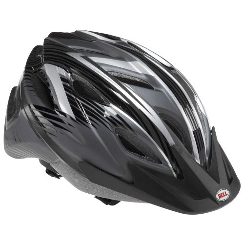 Bell Adults' Adrenaline™ Black Steel Bicycle Helmet