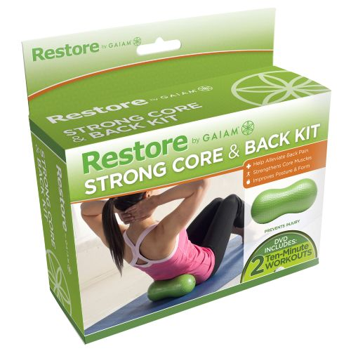 Image for Gaiam Restore Strong Core and Back Care Kit from Academy