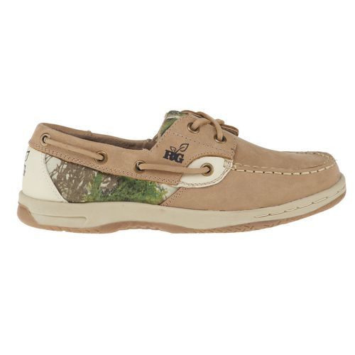 realtree s leather boat shoes on the hunt