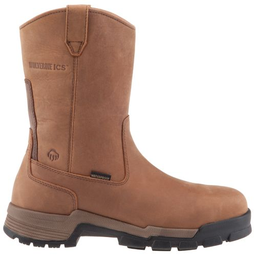 Image for Wolverine Men's ICS Waterproof Wellington Work Boots from Academy