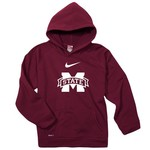 Nike Boys' Mississippi State University Performance Fleece Hoodie