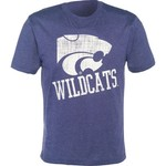 Colosseum Athletics Men's Kansas State University Ace Crew Neck T-shirt