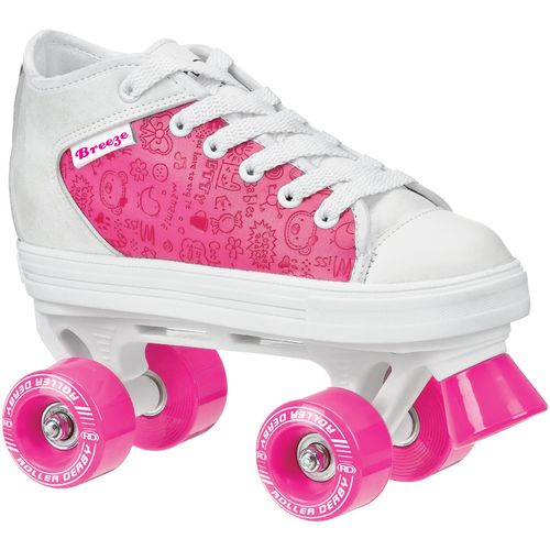 Image for Roller Derby Girls' Breeze MX Quad Skates from Academy
