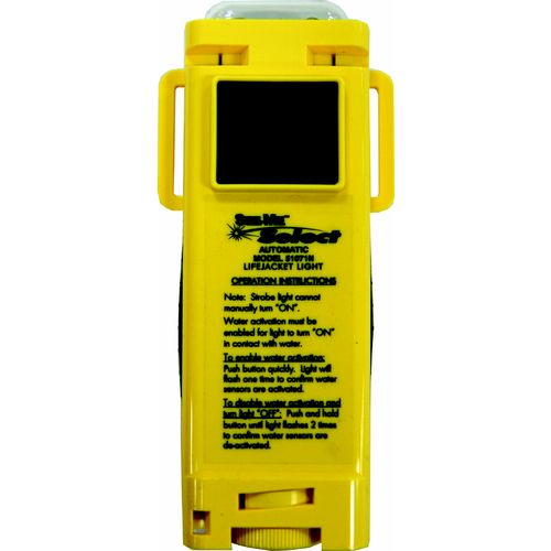 UST Marine See-Me™ Select Water-Activated/Manual LED Rescue and