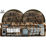 Dual MCP360CAMO 200W Realtree Max-4 Marine CD Player with Two 6-1/2