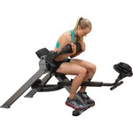 Body-Solid Semi-Recumbent Dual Ab Bench - view number 1