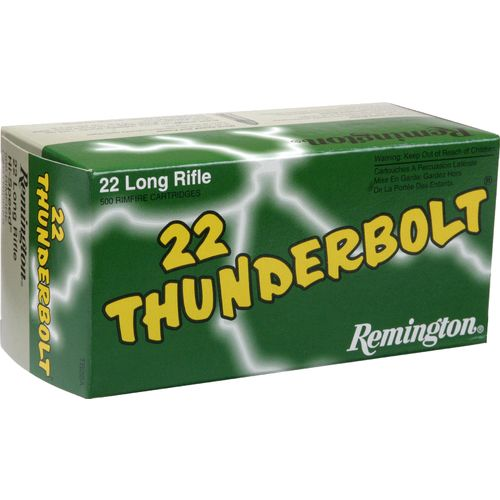 Remington Thunderbolt .22 LR 40-Grain Rimfire Rifle Ammunition