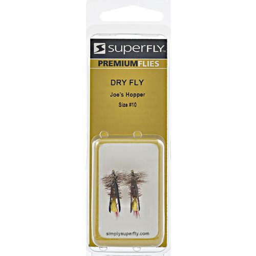 Superfly Joe's Hopper Dry Flies 2-Pack