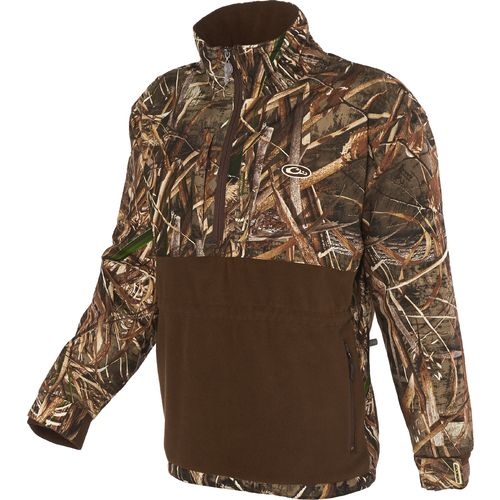 Display product reviews for Drake Waterfowl Men's MST Eqwader Plus 1/4 Zip Jacket
