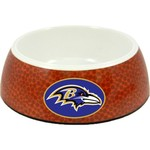 GameWear Baltimore Ravens Classic NFL Football Pet Bowl