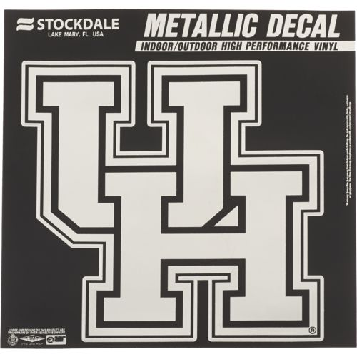 Stockdale University of Houston Metallic Decal