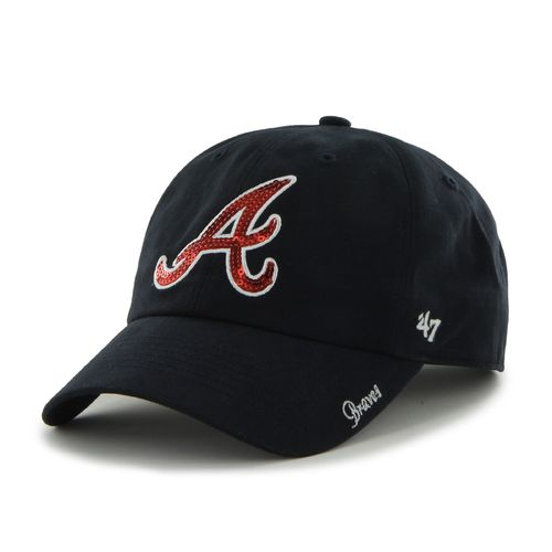 '47 Women's Atlanta Braves Sparkle Clean Up Cap