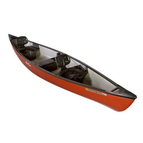 Old town saranac 14 39 6 3 person canoe academy for Academy sports fishing kayaks