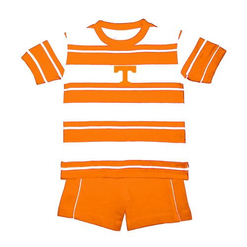 Two Feet Ahead Toddlers' University of Tennessee Rugby Short Set