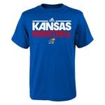 adidas Boys' University of Kansas On Court Practice T-shirt