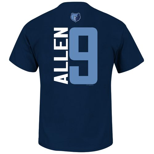 Majestic Men's Memphis Grizzlies Anthony Allen #9 Custom T-shirt