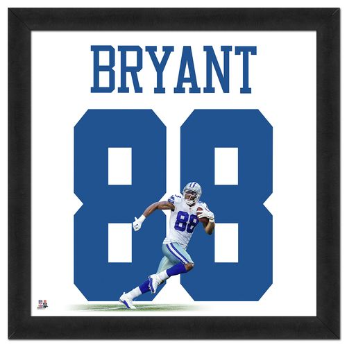 Photo File Dallas Cowboys Dez Bryant #88 UniFrame 20' x 20' Framed Photo