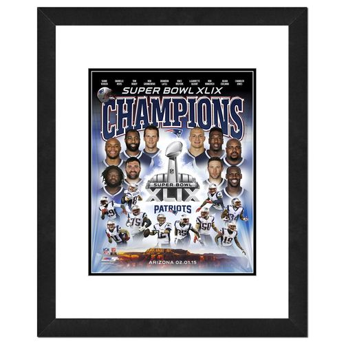 Photo File New England Patriots Championship Composite Photo
