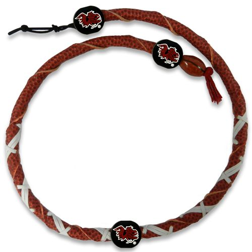 GameWear University of South Carolina Classic Spiral Football Necklace