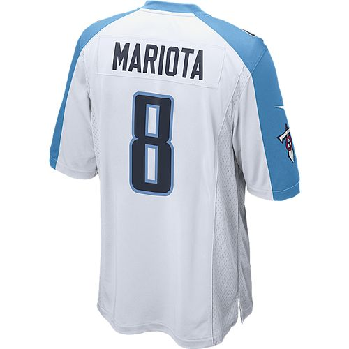 Nike Adult Tennessee Titans Marcus Mariota #8 White Jersey