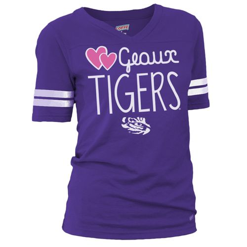 Soffe Girls' Louisiana State University Football Jersey