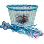 Disney Girls' Frozen Bicycle Basket and Streamer Combo