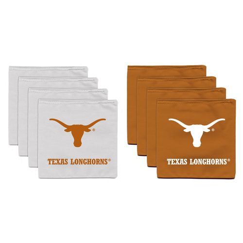 Display product reviews for BAGGO® University of Texas 12 oz. Cornhole Beanbag Toss Bags 8-Pack