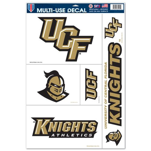 WinCraft University of Central Florida Multiuse Decals 5-Pack