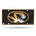Rico University of Missouri Metal Auto Tag