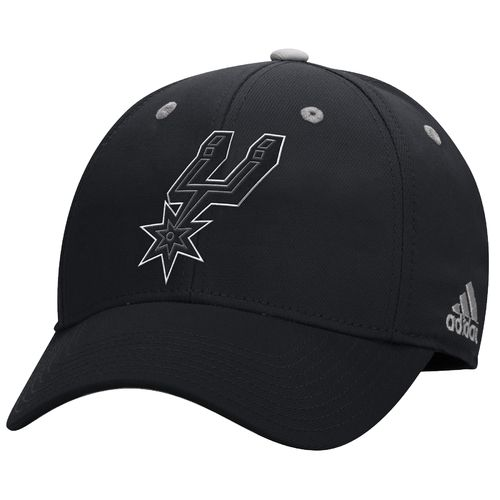 adidas Men's San Antonio Spurs Team Nation Structured Flex Cap