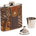 Magellan Outdoors™ Camo Flask and Shot Glass Set
