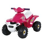 RollPlay Toddler Girls' Mini Quad 6V Ride-On