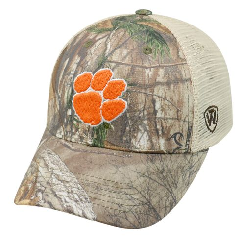 Top of the World Adults' Clemson University Prey Cap