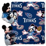 The Northwest Company Tennessee Titans Mickey Mouse Hugger and Fleece Throw Set