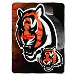 The Northwest Company Cincinnati Bengals Bevel Micro Raschel Throw