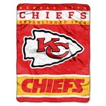The Northwest Company Kansas City Chiefs 12th Man Raschel Throw