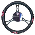The Northwest Company San Francisco 49ers Steering Wheel Cover - view number 1