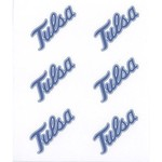 Stockdale University of Tulsa Mascot Face Decal