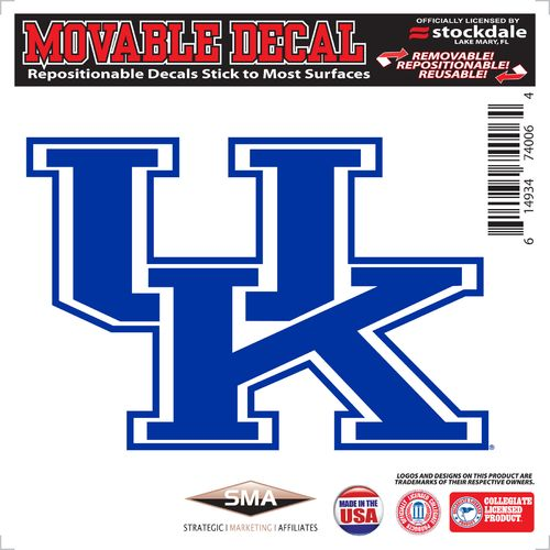 "Stockdale University of Kentucky 6"" x 6"" Decal"