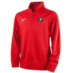 Nike Boys' University of Georgia Sideline Collection Dri-FIT 1/4 Zip Top