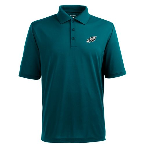 Antigua Men's Philadelphia Eagles Piqué Xtra-Lite Polo Shirt
