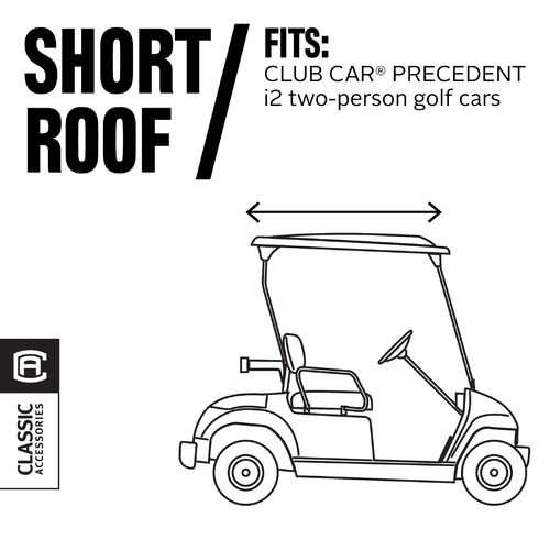 Classic Accessories Fairway Collection FadeSafe™ Club Car® Precedent Golf Cart Enclosure - view number 1