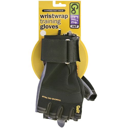 GoFit Adults' Diamond-Tac Weightlifting Gloves - view number 2
