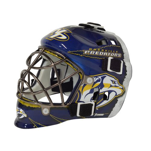 Franklin NHL Team Series Nashville Predators Mini Goalie Mask