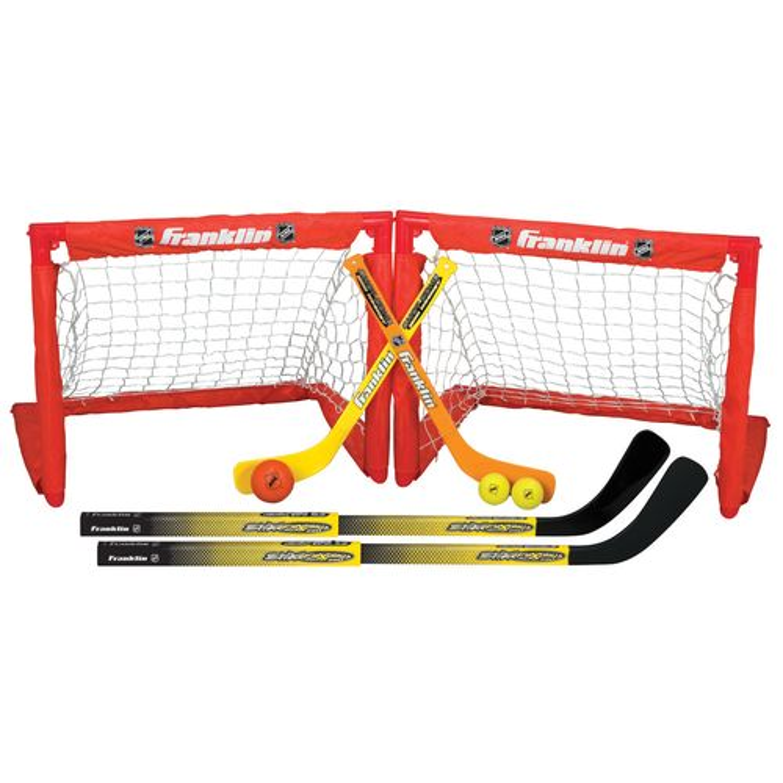Franklin NHL Indoor Sport 2-in-1 Hockey Set