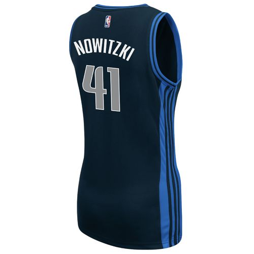 adidas™ Women's Dallas Mavericks Dirk Nowitzki #41 Replica Jersey